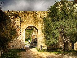 Porta della montagna di Noto antica