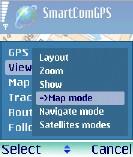 Schermata di Smartcom GPS