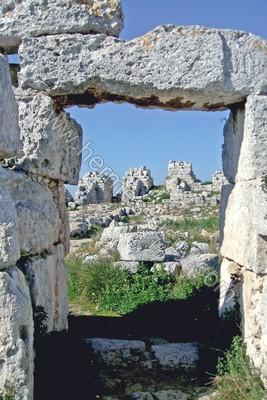 Veduta di uno degli ambienti del castello