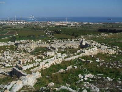 Castello Eurialo: fortificazioni a tenaglia