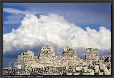 Castello Eurialo: torrioni difensivi
