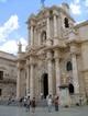 Prospetto barocco del Duomo di Siracusa