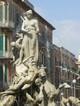 Siracusa, Ortigia: dettaglio della Fontana di Diana