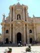 Prospetto della cattedrale di Siracusa