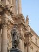 Duomo, dettaglio della statua di San Pietro