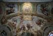 Duomo, cappella del SS Sacramento, affreschi di Agostino Scilla