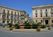 Ortigia: la fontana di Diana al centro di piazza Archimede
