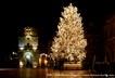 Piazza Duomo nel periodo natalizio