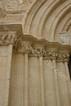 Chiesa di San Pietro, dettaglio delle modanature architettoniche