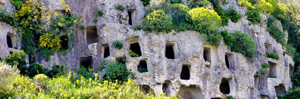 Visite guidate alla necropoli di Pantalica