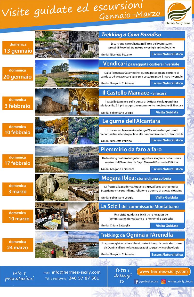 Escursioni a Siracusa e Sicilia orientale