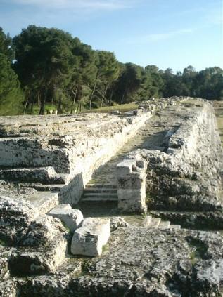 Ara di Ierone II - Siracusa