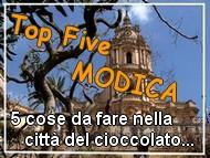 Top five: cosa vedere a Modica