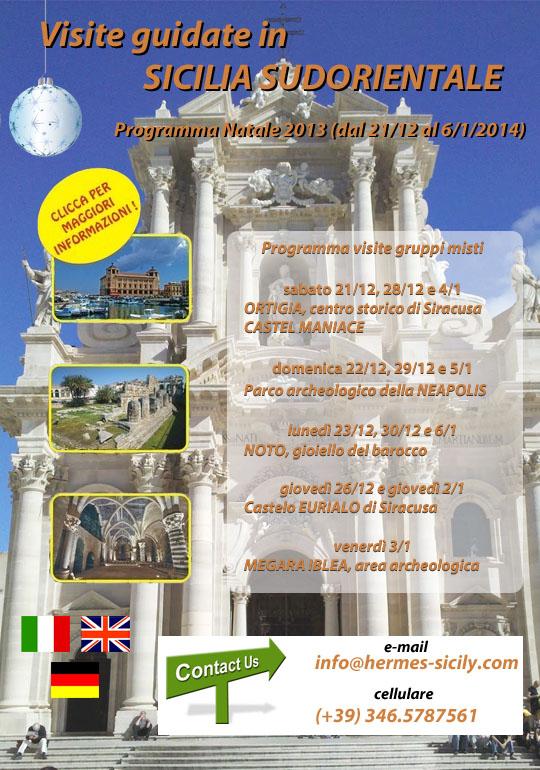 Visite guidate in Sicilia sud-orientale