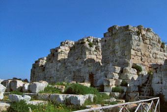 Castello Eurialo, particolare delle torri