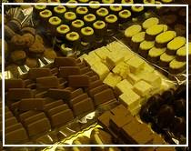 Alcune leccornie al cioccolato di Modica