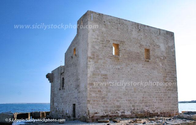 Resti della torre di avvistamento medievale